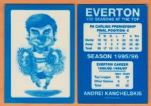 Everton Andrei Kanchelskis Russia